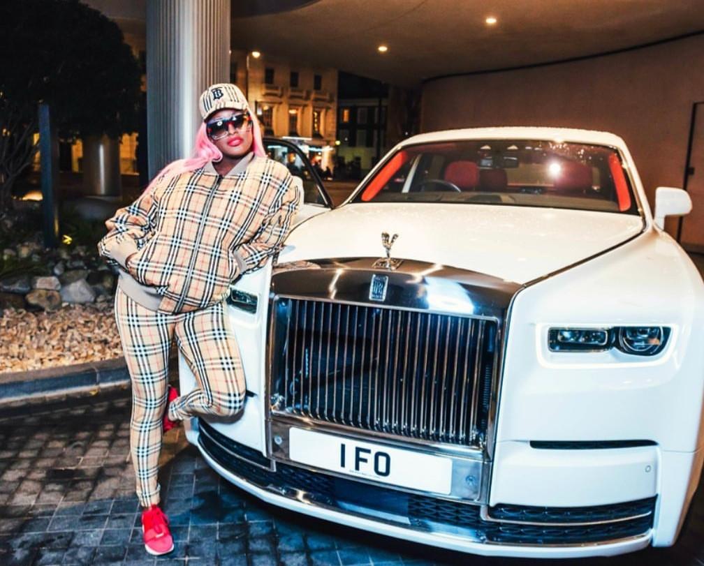 Billionaire businessman Femi Otedola spends ?300k for special 1FO number plates on his brand new ?550k Rolls Royce Phantom (photos)
