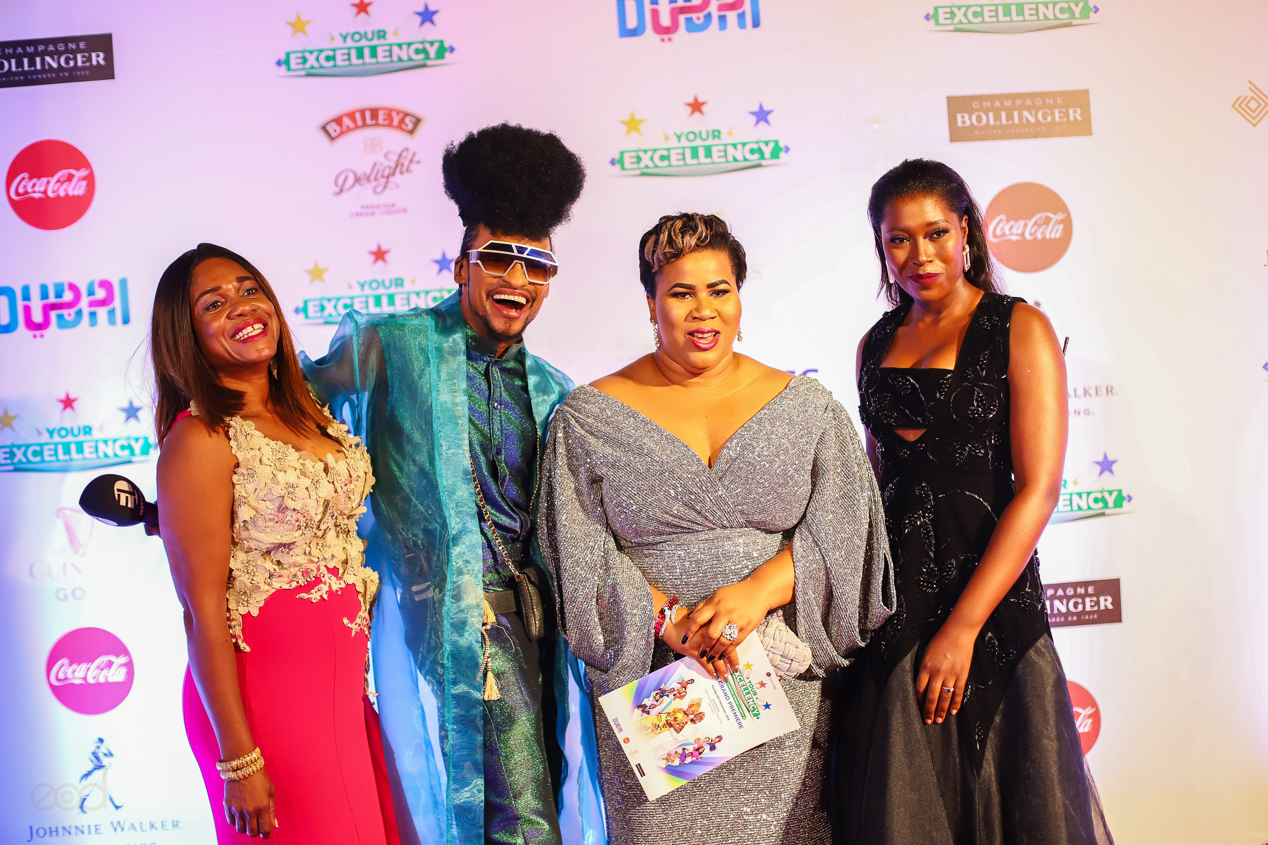 More stunning photos from the premiere of Ebony Life Films