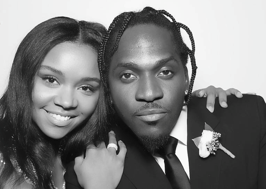 Rapper Pusha T and wife Virginia Williams expecting first child together
