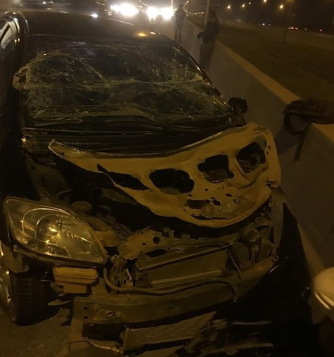 Gospel act, Moses Bliss survives terrible car crash (photo)