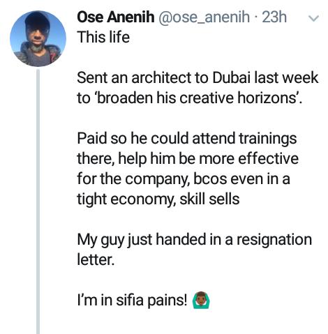 Nigerian entrepreneur in