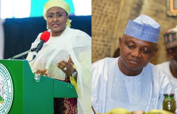 Garba Shehu has gone beyond his boundaries, he is a disloyal officer - Aisha Buhari slams Presidential spokesman