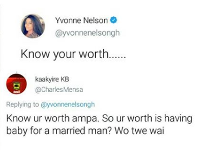 I pray your marriage lasts - Yvonne Nelson tells Victoria Lebene as they fight dirty on Twitter