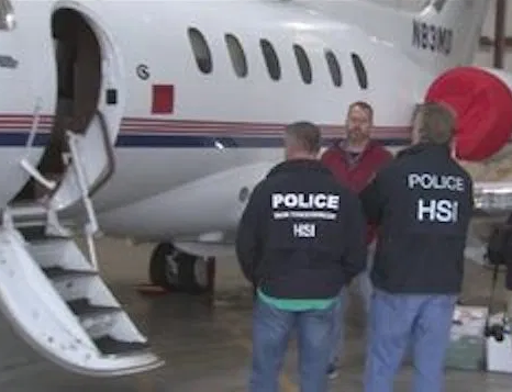 US seizes private jet belonging to a Nigerian facing trial in New York (Photo)