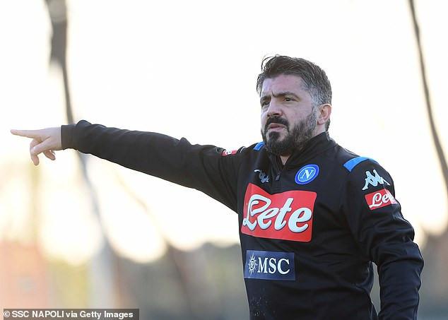 Gennaro Gattuso confirmed as Napoli new coach after Carlo Ancelotti sacking