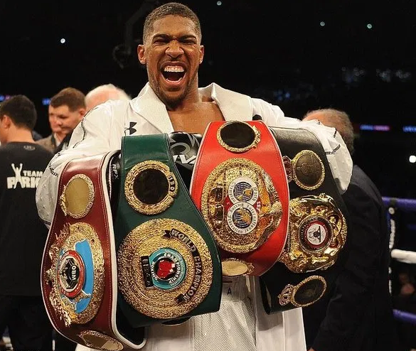 Anthony Joshua to present world championship belts to President Buhari