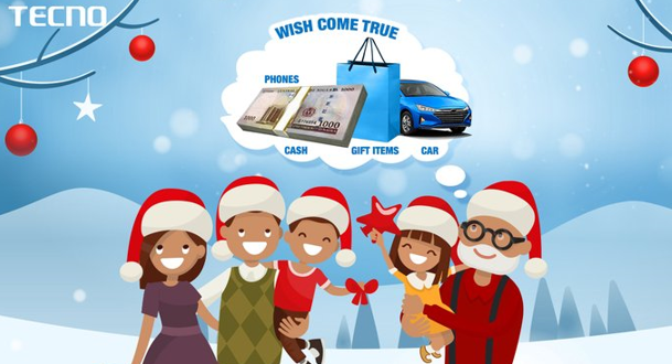 Tecno Will Make Your Christmas Wishes Come True!
