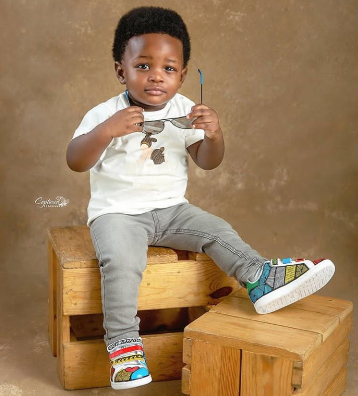 Toolz shares photos of her son