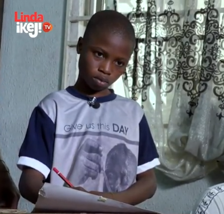 Young hyperrealism artist who sketched French President in 2 hours during his visit to Nigeria is featured on First Class Material Episode 4 (video)