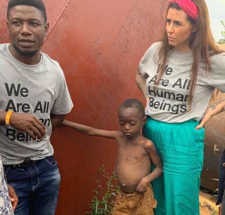 Danish aid worker rescues another child left to die by his family (photos)