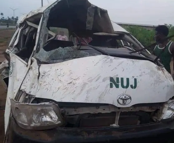 Four Nigerian journalists killed in motor accident