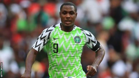 NFF denies forcing Odion Ighalo