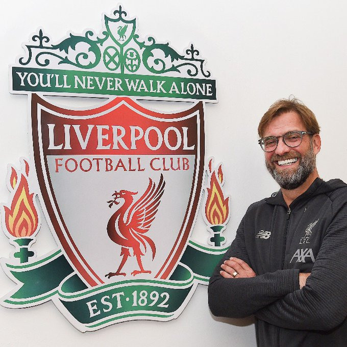 J?rgen Klopp agrees to new Liverpool FC contract until ?2024
