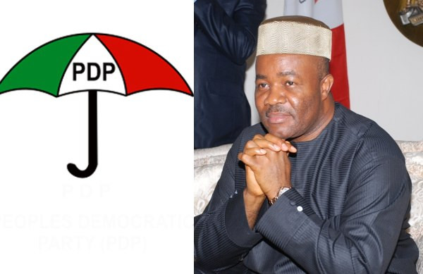 PDP mocks Akpabio, says he withdrew to avoid another defeat