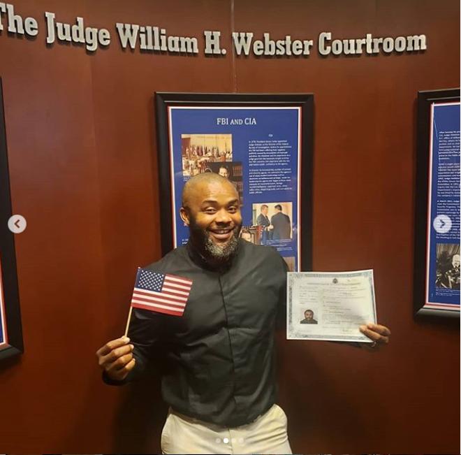John Paul Nwadike?becomes a US citizen (Photos)