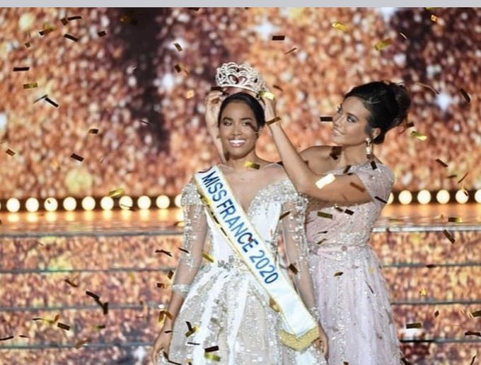 Clemence Botino wins Miss France and social media users express concern that black women are winning beauty pageants