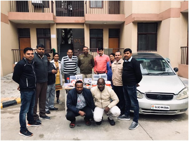 Two Nigerian nationals including a priest arrested in India for ATM cloning, 37 cloned cards recovered