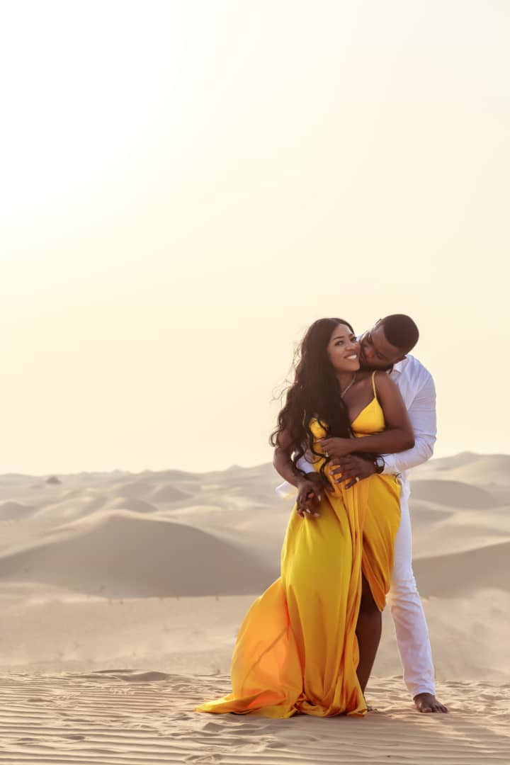 Sandra Ikeji set to wed, releases stunning pre-wedding photos