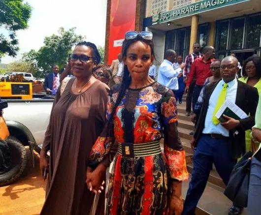 Zimbabwe VP Wife, Charged With Corruption and Attempted