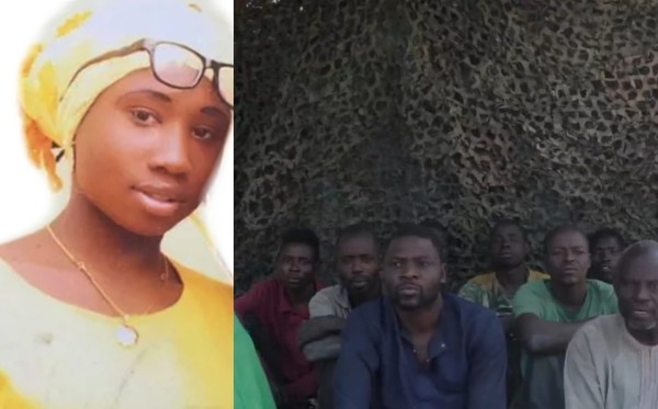 Leah Sharibu is still alive ? Lecturer abducted by Boko Haram speaks from captivity (video)