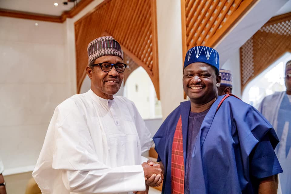 Like me, millions of Nigerians believe Buhari will take them to the land of milk and honey - Femi Adesina celebrates President Buhari at 77