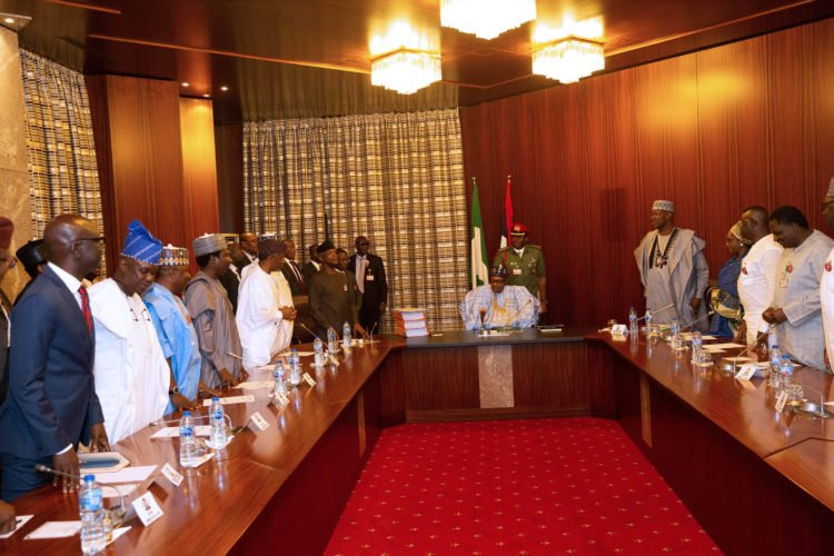 Photos: President Buhari signs 2020 budget into law