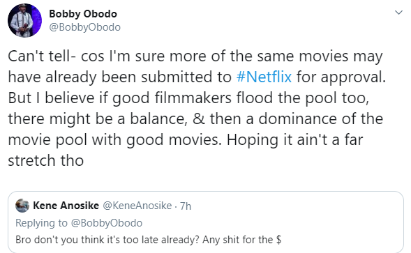 Most of the Nollywood movies we are putting on Netflix are becoming painful to see- Nollywood actor, Bobby Obodo