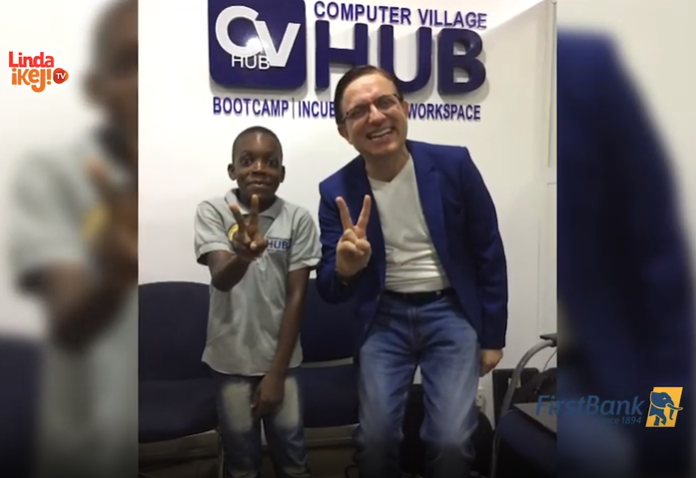 Watch Basil Okpara, 10-year- old mobile game developer who has built up to 40 games, speak on episode 5 of First Class Material (video)