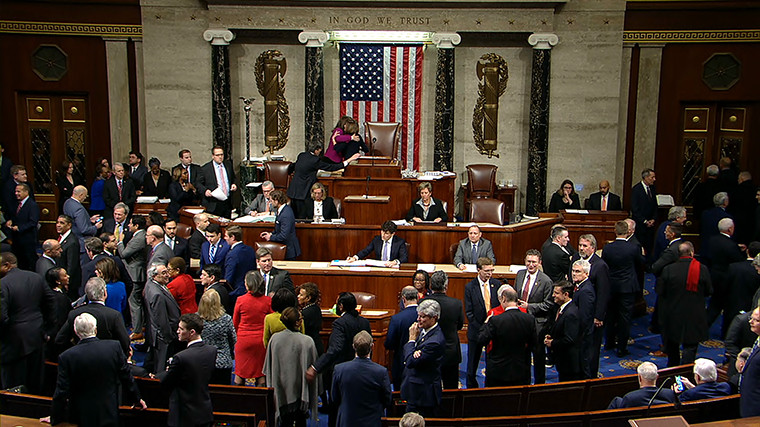 Donald Trump impeached by the US House of Representatives