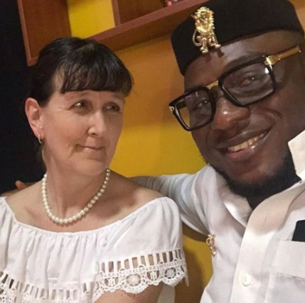 Caucasian woman and her Nigerian husband speak to LITV about how they met, rubbish claims they married for papers  (video)