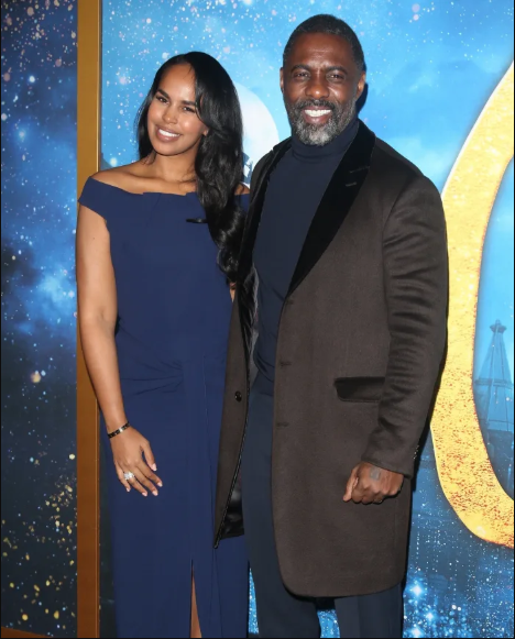 Actor Idris Elba and wife Sabrina Dhowre Elba