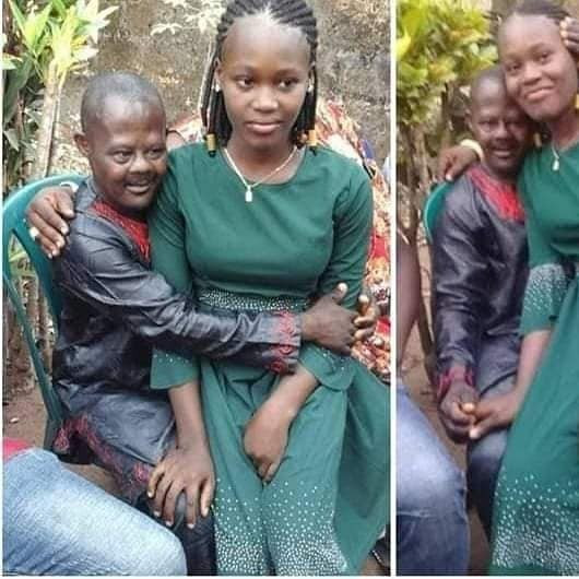 Check out new photo of Chinwe, the 15-year-old girl rescued after being married off to 56-year-old