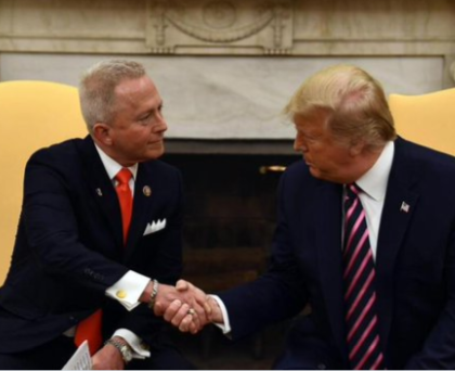 US politician Jeff Van Drew dump the Democrats to join President Trump?in the Republican party
