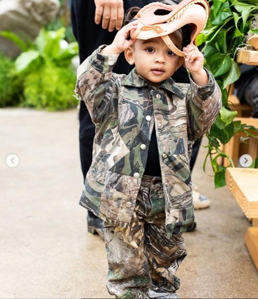 Kim Kardashian shares more beautiful photos from her son Saint