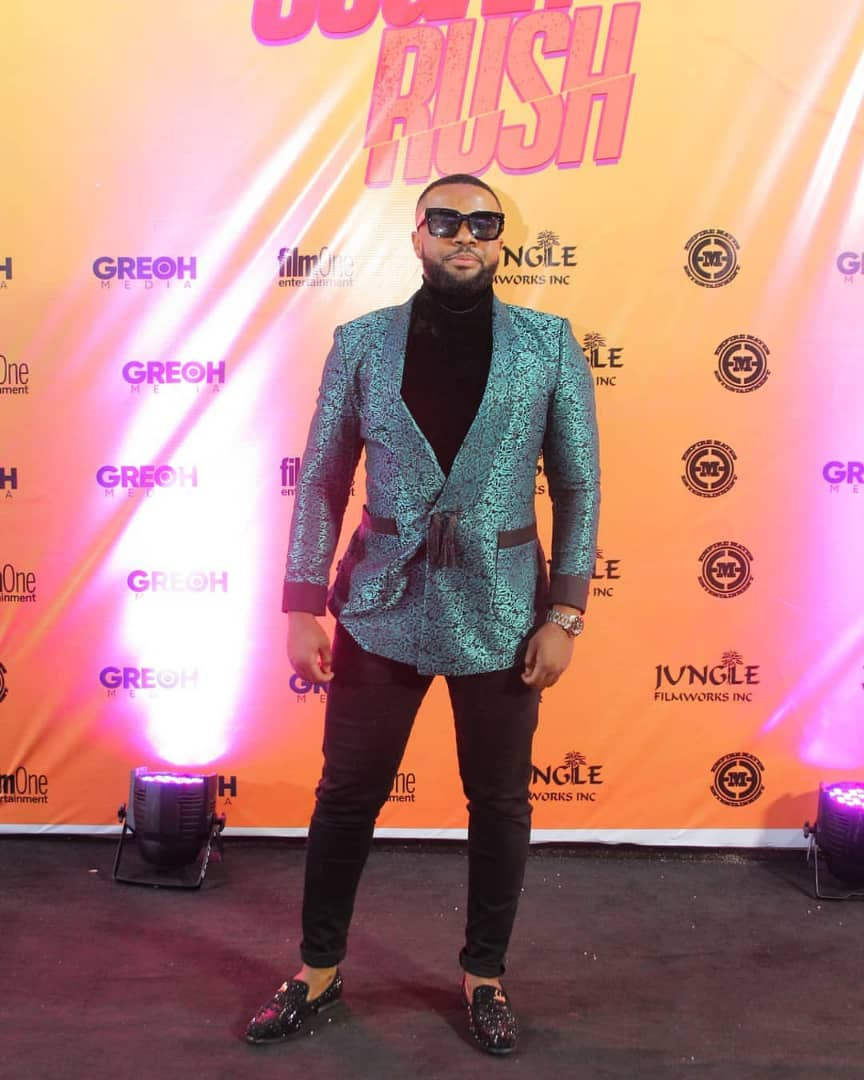 Photos: Toke Makinwa, Adesua Etomi-Wellington, Funke Akindele Bello, others at Sugar Rush movie premiere