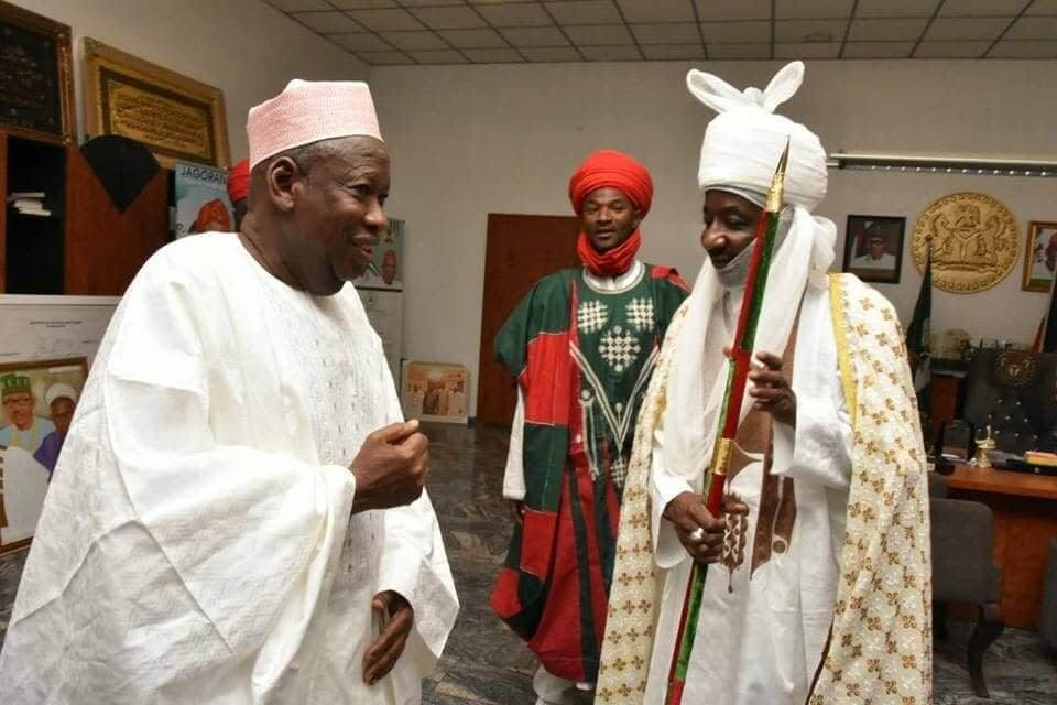 Emir Sanusi given two days to accept or reject appointment as head of Kano chiefs'