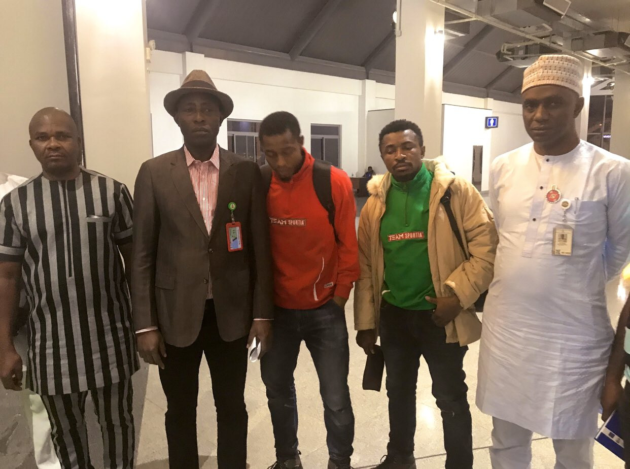 Update: Two FUTO students who were detained in a Bosnia camp after a tennis tournament in Croatia return to Nigeria