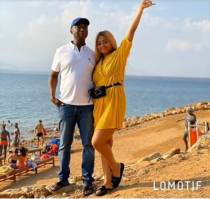 Regina Daniels releases loved up photos with hubby Ned Nwoko to wish him a happy birthday