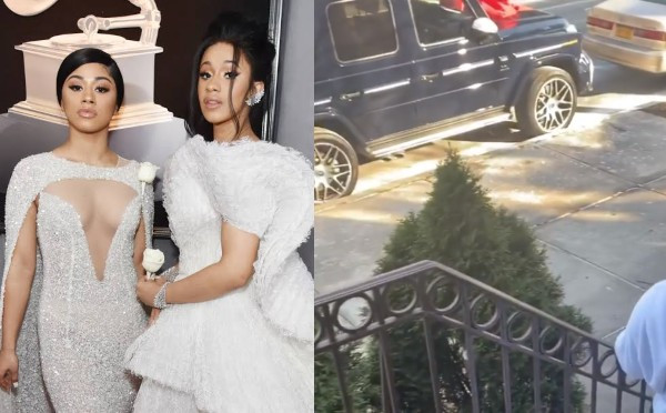 Cardi B gives her sister Hennessy a G-wagon on her 24th birthday (video)