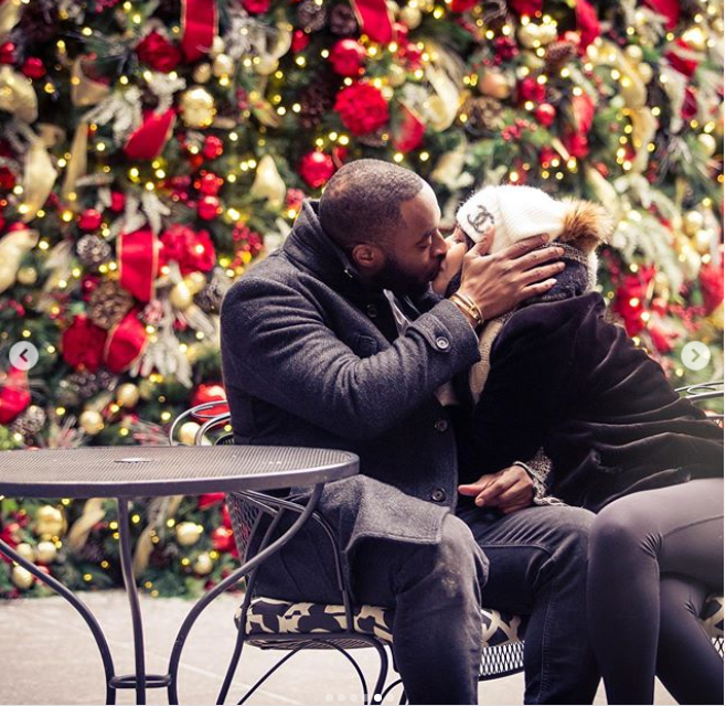 Former NFL player Chris Ogbonnaya proposes to his girlfriend, Jeanine Juliano (Photos)