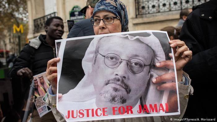 Five sentenced to death over murder of Jamal Khashoggi
