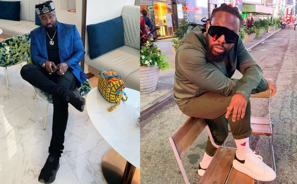 Harrysong shades Timaya over comment about Nigerian celebrities who wear fake designers