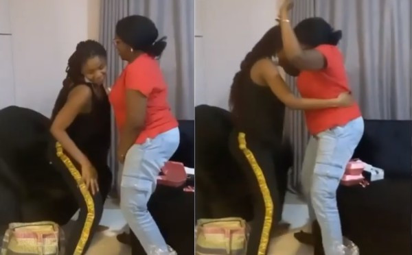 Beautiful moment pregnant Simi taught her mother how to