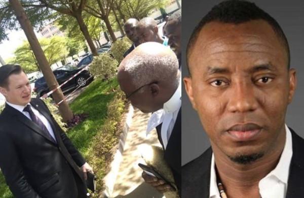 United States sends representative to monitor Omoyele Sowore