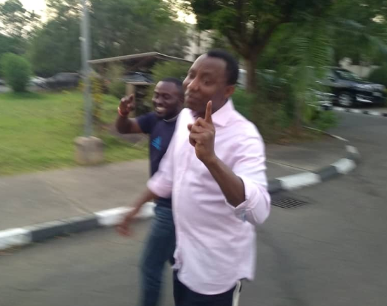 Photos:?Omoyele Sowore?has been released