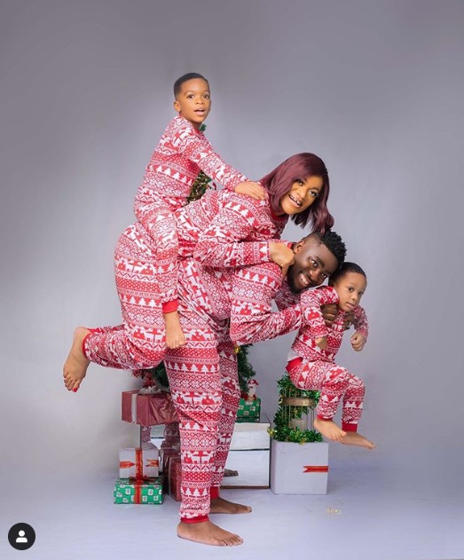 Beautiful Christmas card photos featuring The Okoyes, The Yobos and others