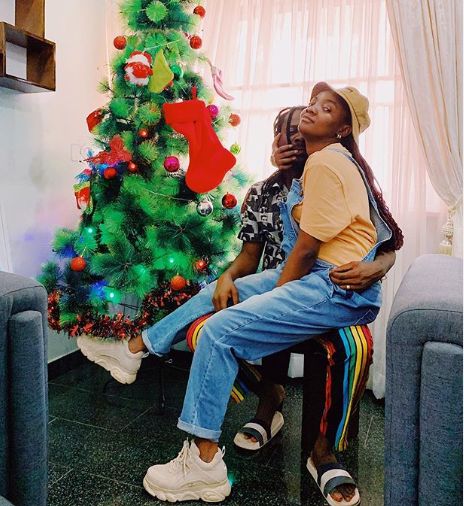 Adekunle Gold and Simi share cute photo to celebrate 2019 Christmas