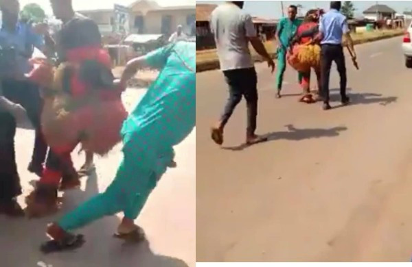 Masquerade allegedly arrested in Anambra state (video)