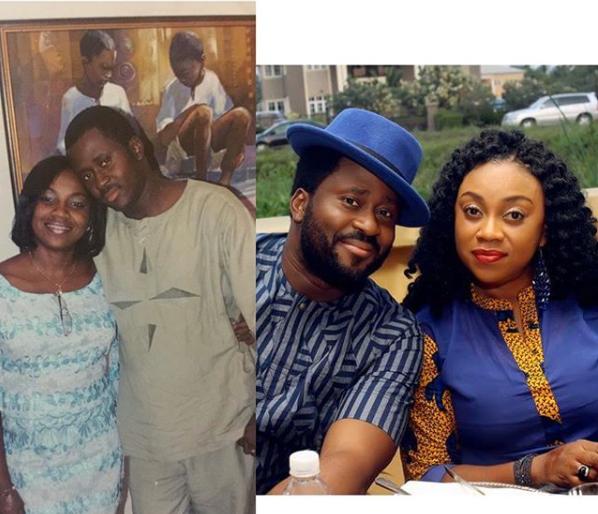 Desmond Elliot and his wife, Victoria celebrate 16th wedding anniversary