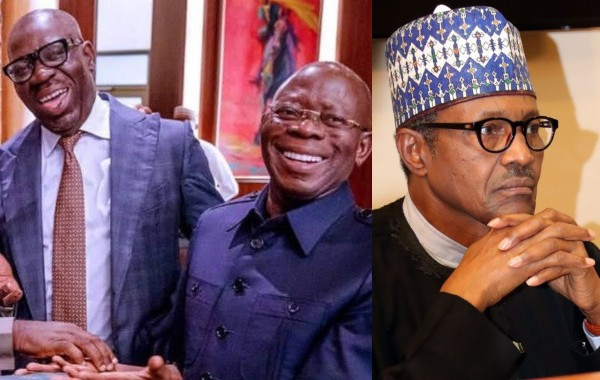 President Buhari asked us to deal with anyone engaging in anti-party activities, that is what we are doing to Oshiomhole - Governor Obaseki